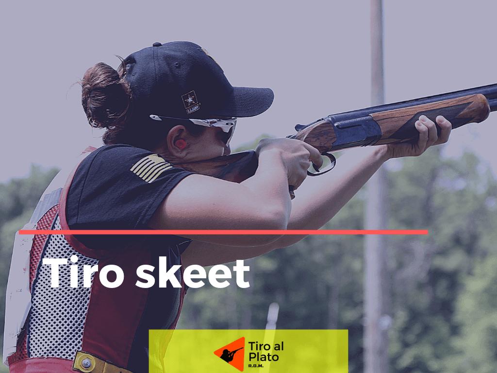 tiro skeet shooting
